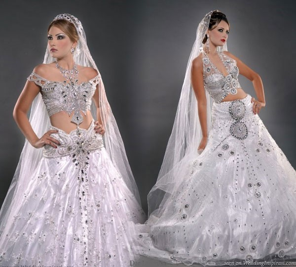 Modern Wedding Dress tunisia