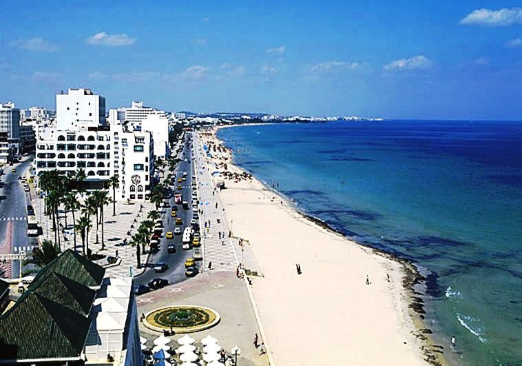 beach in sousse tunisia