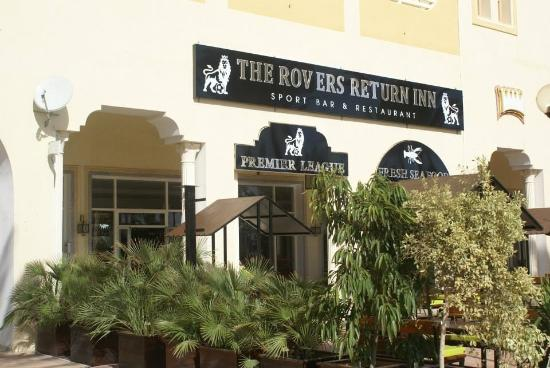 The Rovers Return Inn restaurant hammamet