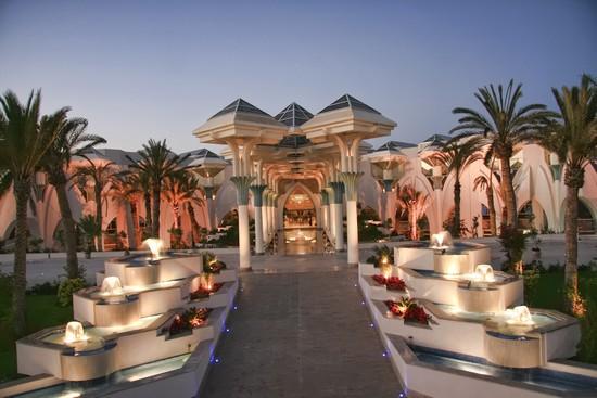 Hasdrubal Prestige Djerba entrance