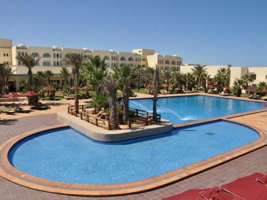Hasdrubal Thalassa & Spa pool