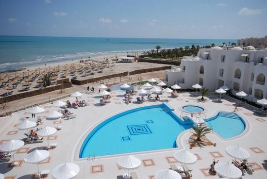 Hotel Telemaque Beach & Spa pool