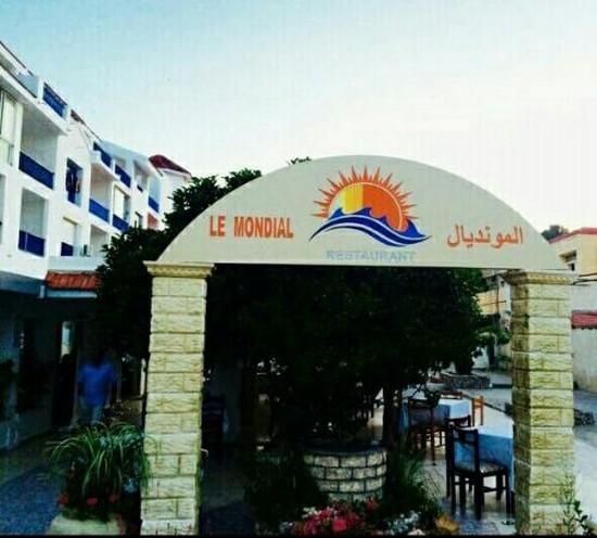 Le Mondial restaurant tabarka tunisia